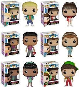 Saved by the bell funko pop dolls FULL SET