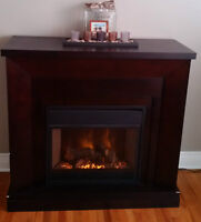 Electric Fireplace w/Remote (PRICE REDUCED)