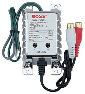 NEW-BOSS-B65N-High-Level-to-Low-Level-Converter-RCA-Input-Sensitivity-Control