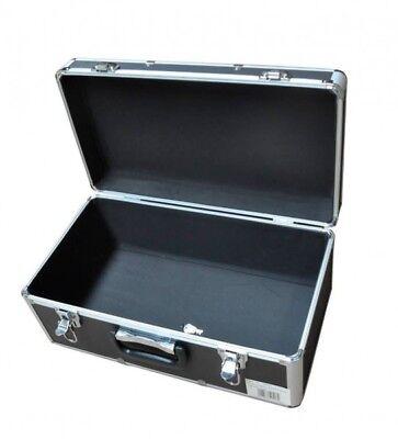 Aluminium Koffer leer 25L Alu abschließbar Transportkoffer Lagerkiste 48x26x21