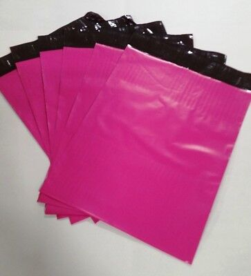 200 - 10x13 PINK POLY MAILERS ENVELOPES BAGS 10 x 13 - 2.5MIL from The Boxery