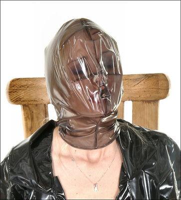 PVC Vacuum Mask / Plastic Breathing Hood - Outfit Clothing (Vacuum Hood)