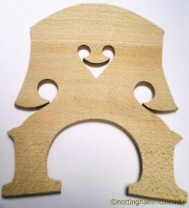 NEW-1-2-SIZE-DOUBLE-STRINGS-BASS-CONTRABASS-BRIDGE