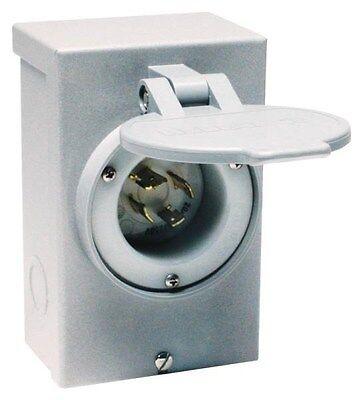 New Reliance Pb20 20 Amp Outdoor Generator Power Inlet Box 5000 Watt Usa 3036134
