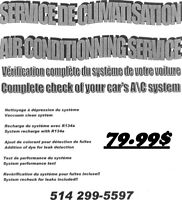 SERVICE AIR CLIMATISÉ PROFESSIONNEL - AIR CONDITIONING SERVICE