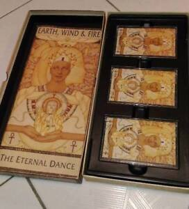 Earth, Wind & Fire The Eternal Dance 3 Cassette Tape Collection