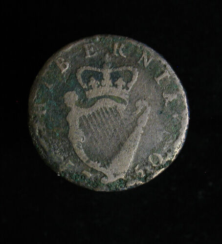 1750 Ireland Half 1/2 Penny George II