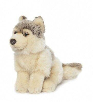 NEU mit Etikett: WWF Plüschtier Wolf Kuscheltier Plüsch Tier ca. 15 cm