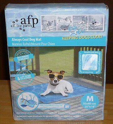 Kühlkissen 50x40cm, Kühlmatte für Haustiere, Hund, Katze Kühlpad Tiere Chill out