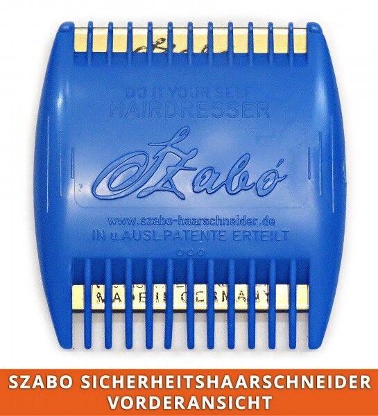 Effilieren + Haarschneiden SZABO klein für 4 Schnittlängen / 2 Klingen