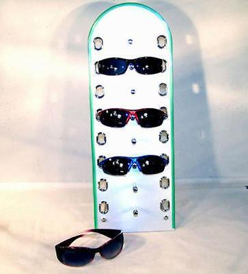 Stand Up Sunglass Display Rack Counter Displays Glasses Eyewear Holder Stand New