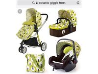 Cosatto buggy and car seat