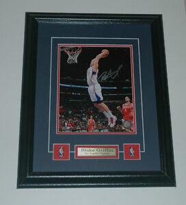 Blake Griffin Los Angeles Clippers Auto Framed