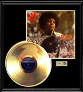 MICHAEL-JACKSON-BEN-RARE-LP-GOLD-RECORD-PLATINUM-DISC-ALBUM-FRAME