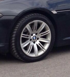 BMW 245/45/18 dunlop winter tires