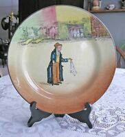 "Royal Doulton Plate (The Artful Doger) Signed "" Noke"""