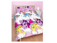 Brand New My Little Pony Double Duvet Set