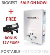 MASSIVE SALE- PORTABLE GAS HOT WATER SYSTEM SMARTTEK6 SMART HOT Perth Region Preview