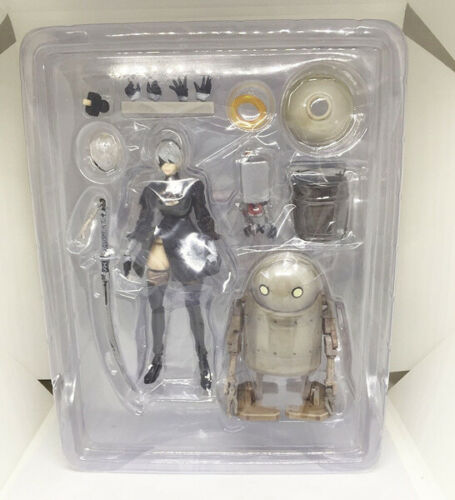 "USED 6"" Nier Automata 2B (YoRHa No. 2 Type B) Action Figure Toy Set BULK PACK"
