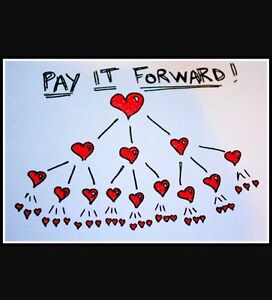 Pay it Forward Wedding Project.
