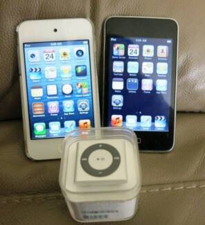 Apple iPod Touch 4th gen 8GB and new iPod shuffle South Yarra Stonnington Area Preview