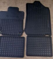 NEW! 2007 - 2015 TOYOTA OEM ALL WEATHER RUBBER & CARPET MATS