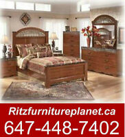 """ORNATE DESIGN"" QUEEN BED ONLY BY ASHLEY"