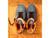 Patrick size 4 (37) Blue & Orange Football Boots In Very Good Condition.