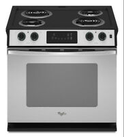"Four Encastre Whirlpool 30"" Self-Cleaning Drop-In Electric Oven"