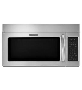 Micro-ondes hotte, Microwave hood oven, Kitchenaid