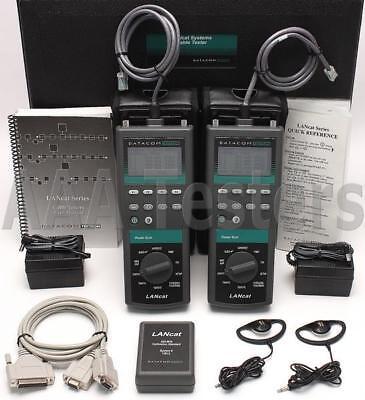 Datacom Textron Lancat System 5 100mhz Cat5 Cable Certifier Tester