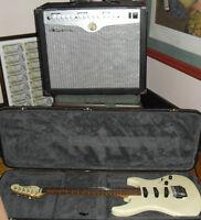 2 x Tube Amplifiers 40w 10w Amp & Electric Guitar W/ hardcase