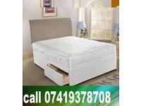 **BRAND NEW DOUBLE DEVAN BED**