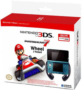 Nintendo Licensed: Mario Kart 7 Wheel - 3DS Accessories - New - Sealed