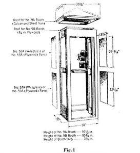 Wanted… Looking for Vintage Wooden Telephone Booth Parts.