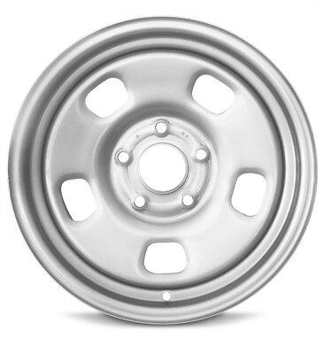 "Set Of 4 Wheels 2013-2019 Dodge Ram 1500 New Steel Rim 17"" Silver 5x139.7mm"
