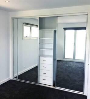 Wardrobe Doors Multiple Sizes - 3 sliding doors. $450. C&bellfield & SLIDING DOORS ALUMINIUM NEW (MULTIPLE SIZES COLOURS PRICES ...