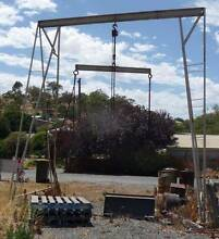 Gantry with 3 ton Pully Block & Tackle Angaston Barossa Area Preview