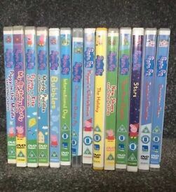 Peppa pig bundle of 17 DVDs