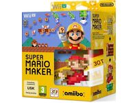 Super mario maker Amiibo