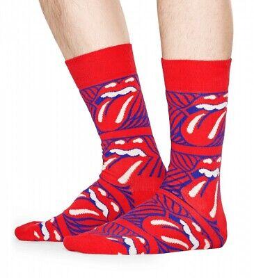 Happy Socks - Rolling Stones - Stripe Me Up - rot / weiß / blau - 36-40 + 41-46