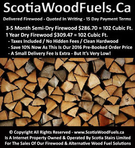 Firewood - Quoted In Writing - 15 Day Payment Terms