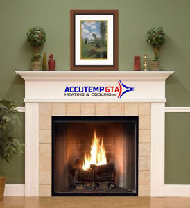 HEATING - FURNACE - fireplace services