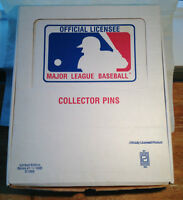 BASEBALL 1985 COLLECTORS JERSEY PIN SET - PETER DAVID LTD ED.