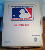 BASEBALL 1985 COLLECTORS JERSEY PIN SET - PETER DAVID LTD ED.