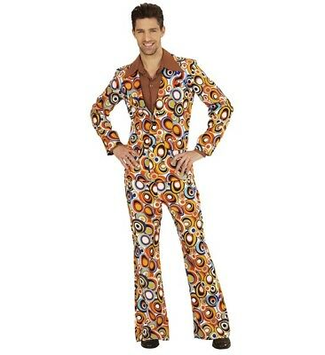 Mens 70S Bubble Suit Night Fever Fancy Dress Costume 1970 Groovy Outfit](Bubble Suit Costume)
