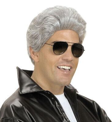 50s Danny Grease Perücke grau für Herren NEU - Danny Grease Perücke