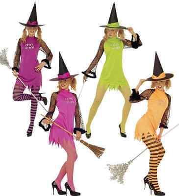 Spicy Witch, verführerische Hexe für Fasching & Karneval Gr S, M, L für - Verführerische Hexe Kostüm