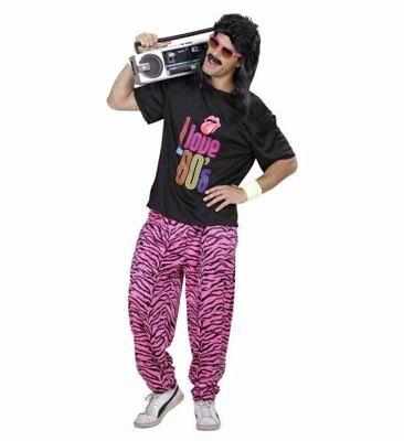 80er Jahre Junge T-Shirt weite Hose Kostüm Karneval Fasching Verkleidung Größe S