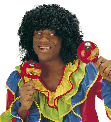 Ronaldinho Afro Perücke für Herren NEU - Karneval Fasching Perücke Haare